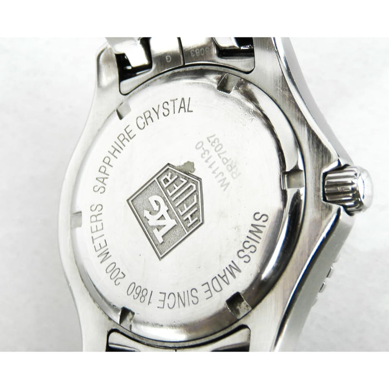 Tag Heuer Stainless Steel Sapphire Crystal Mens Watch - Watches
