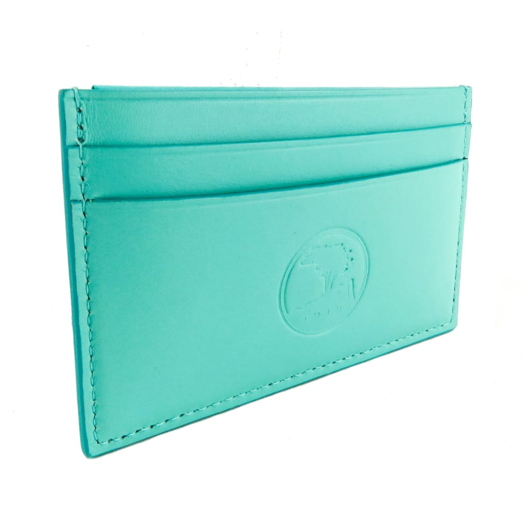 Tiffany & Co Blue Leather Card Case - Card Case