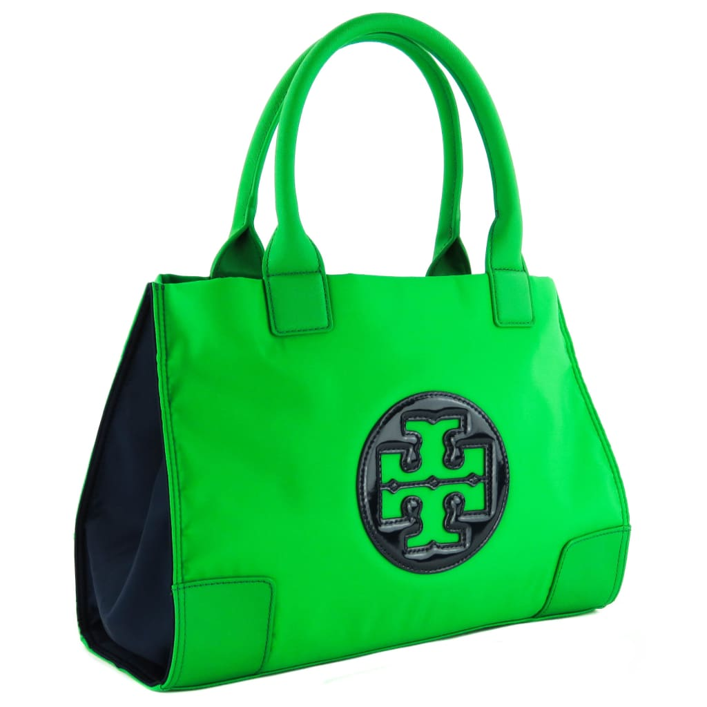 Tory Burch Green Nylon Mini Ella Tote Bag - Totes
