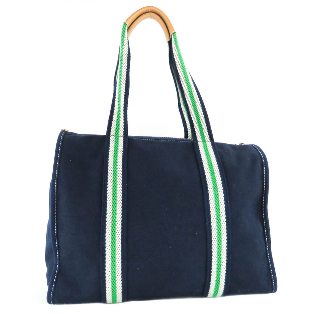 d6f1b89d20a Tory Burch Navy Blue Embroidered T Large Tote Bag – Mosh Posh Designer  Consignment Boutique