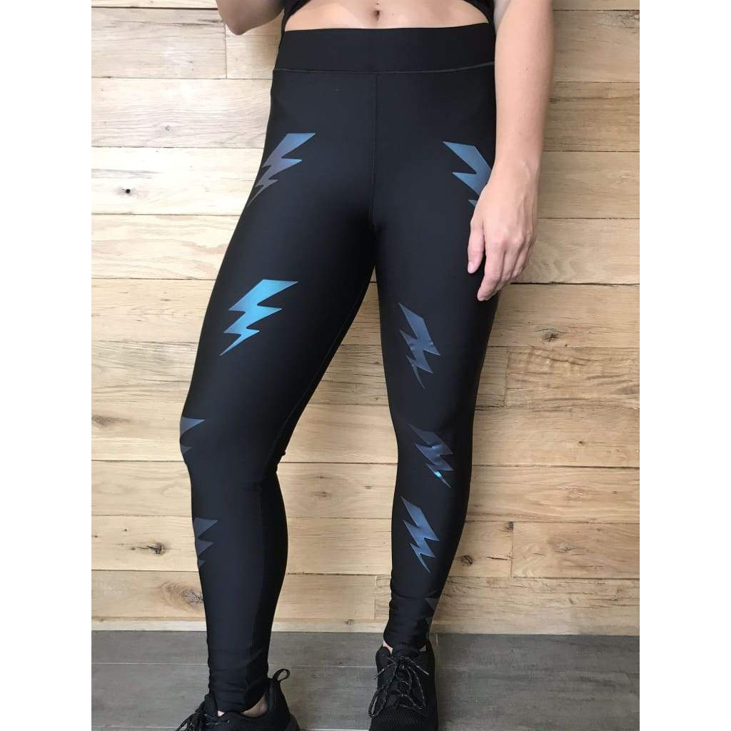 Ultracor Ultra Silk Bolt Moonlight Leggings NWT-Extra Small - Leggings