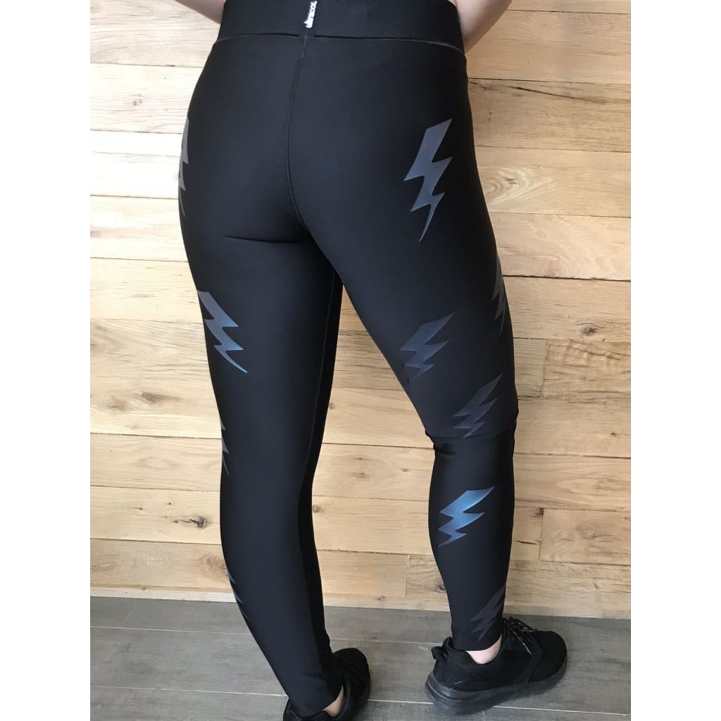 Ultracor Ultra Silk Bolt Moonlight Leggings NWT-Medium - Leggings