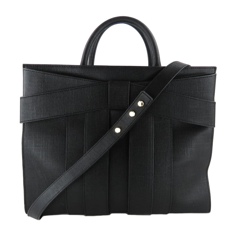 Zac By Zac Posen Black Saffiano Leather Shirley Bow Satchel Bag - Satchels