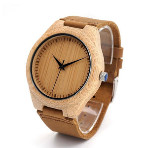 BOBO BIRD - Real Bamboo  Watch