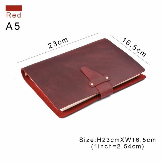 High-end Quality Business Leather Notebook