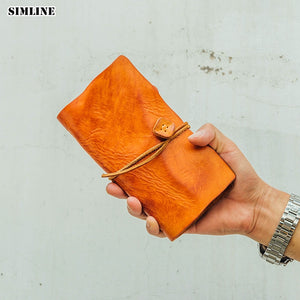 Vintage Genuine Leather Men Wallet