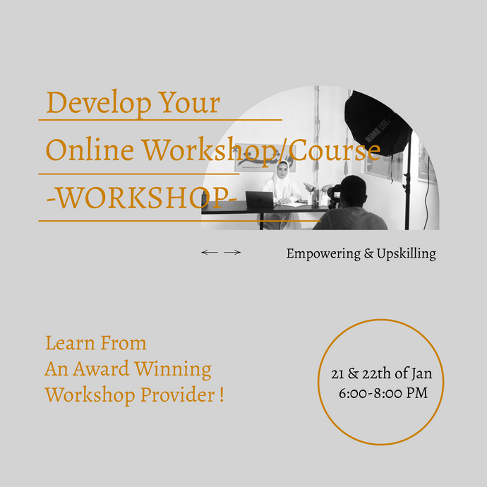 Develop Your Online Workshop/Course