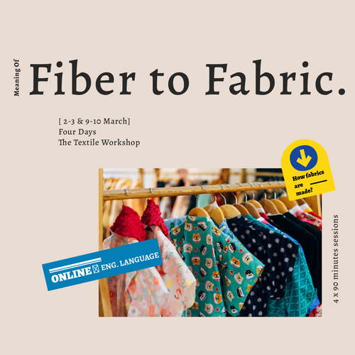 Fibers to Fabrics: How Textiles Are Made? (6431199985815)