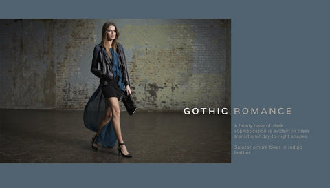 Gothic Romance: Muubba leathers from London on sale at our Fall POP UP SHOP
