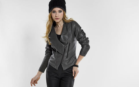 Leather Jackets from Cigno Nero ON SALE at the Winter/Holiday POP UP SHOP