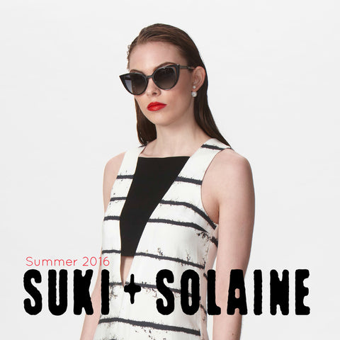 Suki + Solaine featured at our upcoming Pop Up Sample Sale
