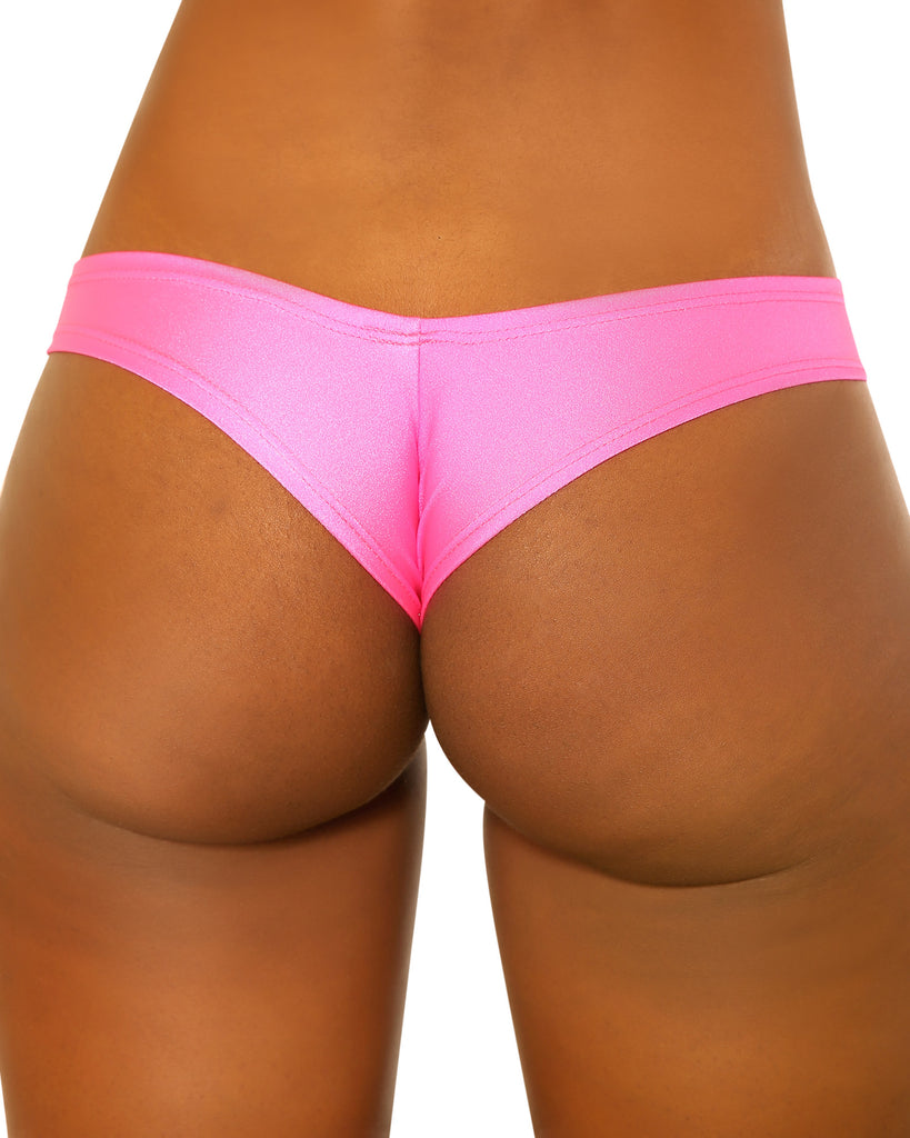Medium Neon Pink Strippers Booty Shorts
