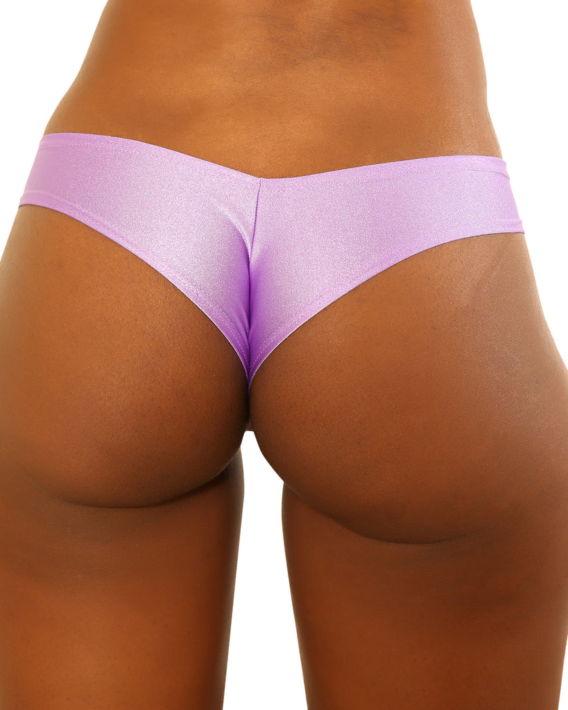 Medium Purple Strippers Booty Shorts