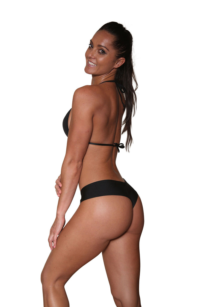 Medium Black Stripper Booty Shorts