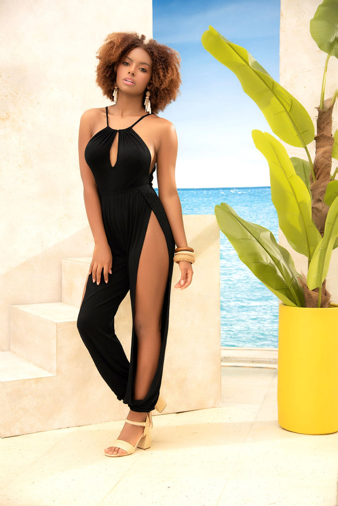 Black Summer Jumpsuit