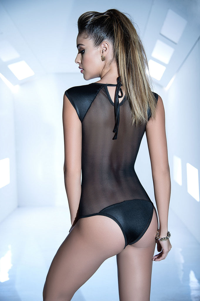 Sexy Bodysuit See Thru Front An Back-Sexy Clubwear