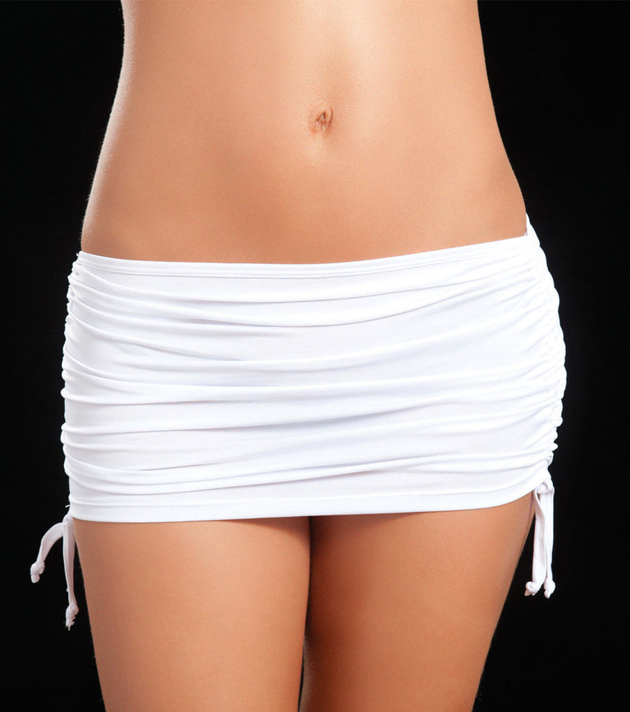 White Micro Mini Skirt