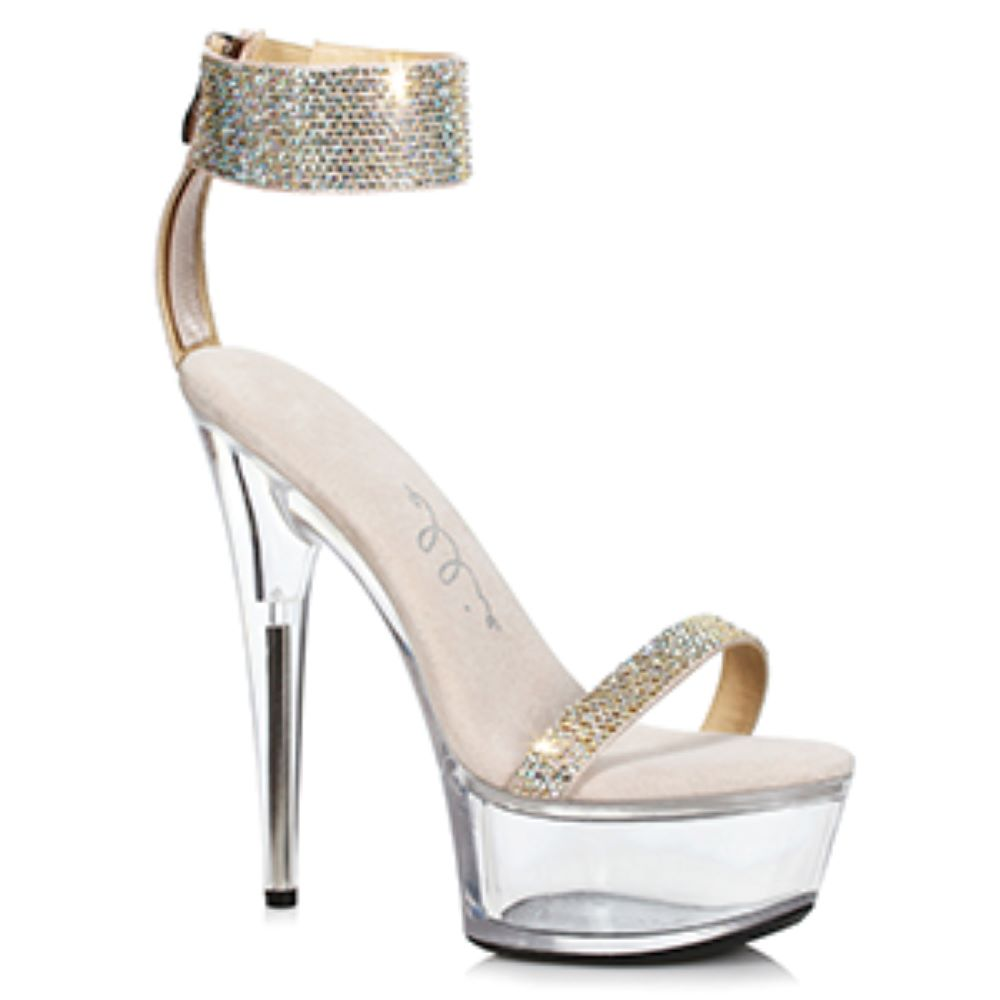 Rhinestone Cuff Clubbing Shoe By Ellie Shoes