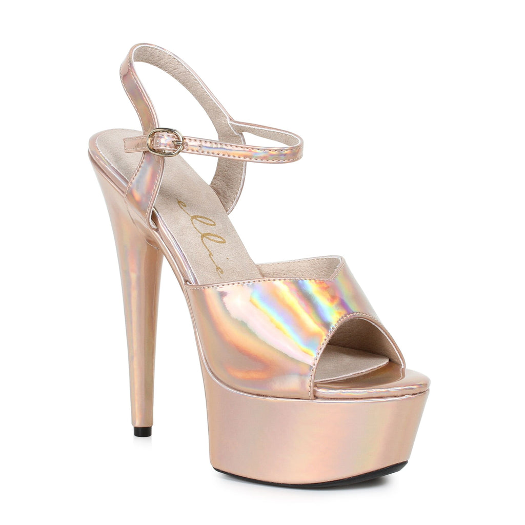 7661420dfd4 Metallic Gold Ankle Strap Sandals Stripper Shoes