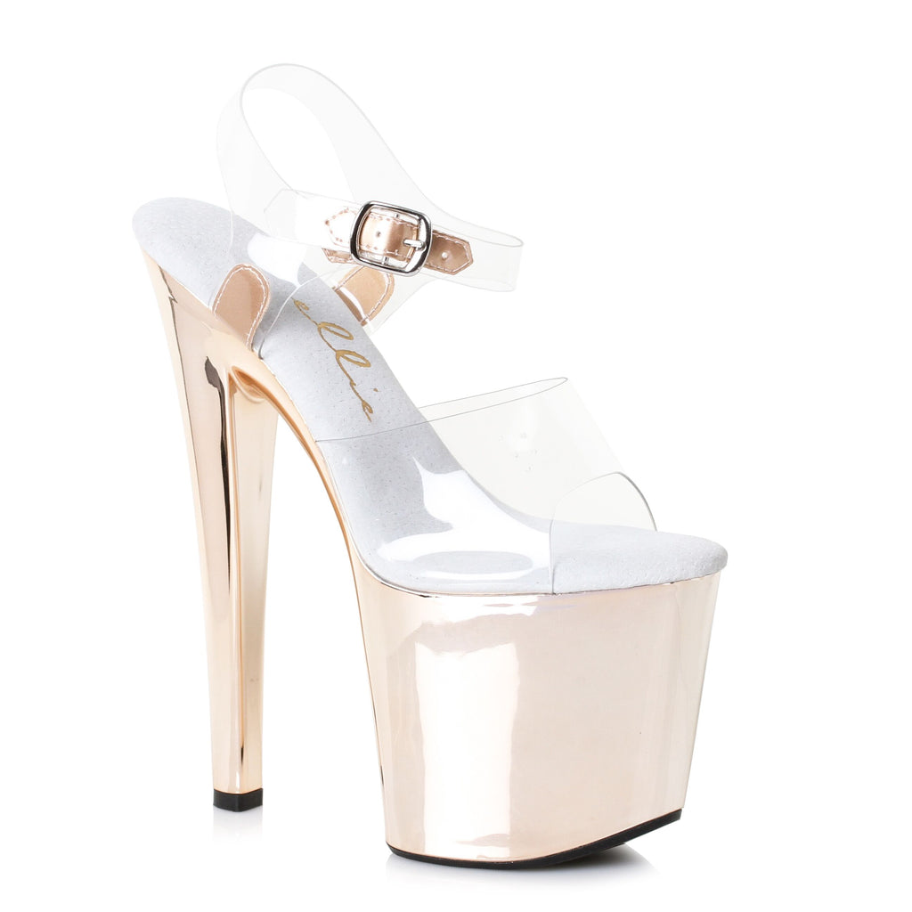 Ankle Strap Sandals Comes With 8 Inch Stiletto Heel Stripper Shoes