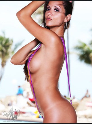 ONE PIECE THONG BACK MONOKINI-Swimwear