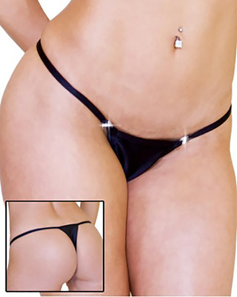 Breakaway Thong With Swarovski Rhinestone Clips