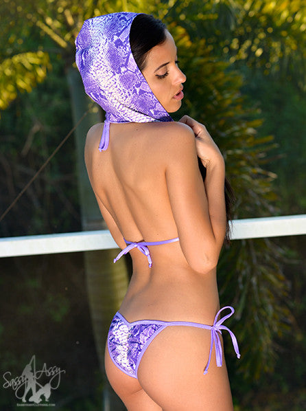 scrunch bottom bikini for pole dancers