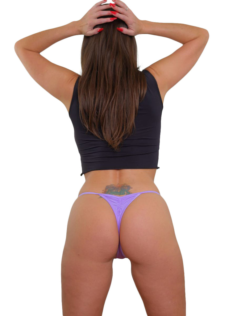 Dancers Purple Breakaway Thong