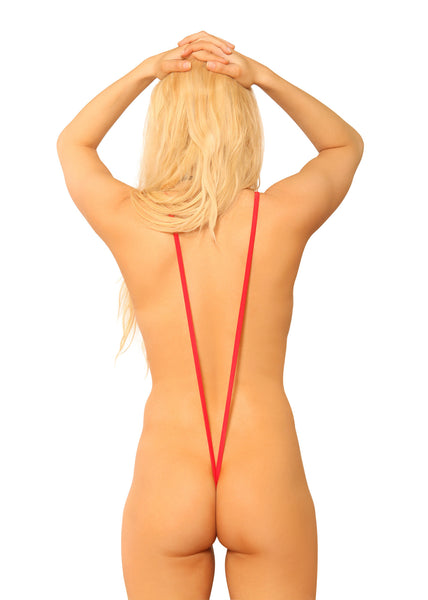 Sling Shot Bikini V Back Stripper Clothes | Sassy Assy