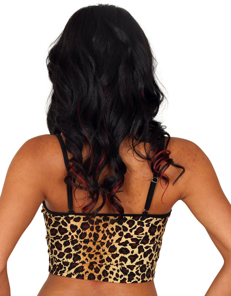 Sassy Assy Leopard Cami Top