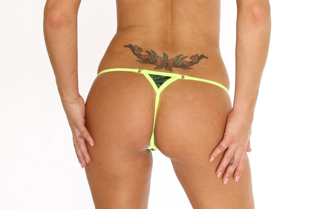 Dancers G String New Marijuana Fashion