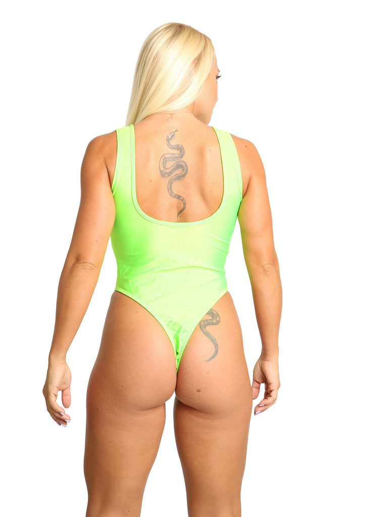 Sassy Assy Lace Up Front One Piece Swimsuit