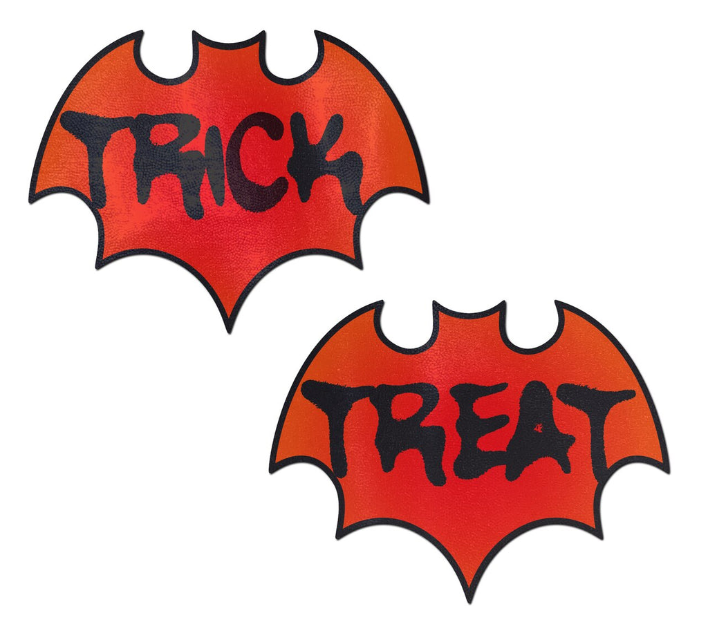 Halloween Trick or Treat Bat Nipple Covers