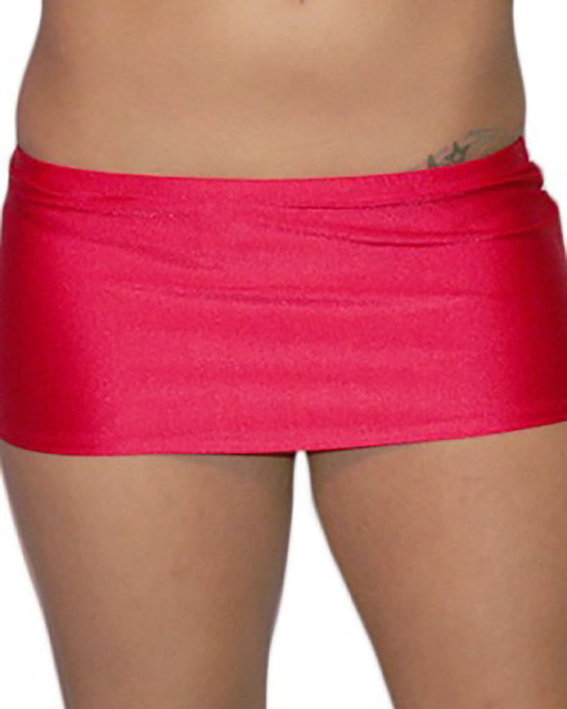 Red 7 1/2 Inch Mini Skirt