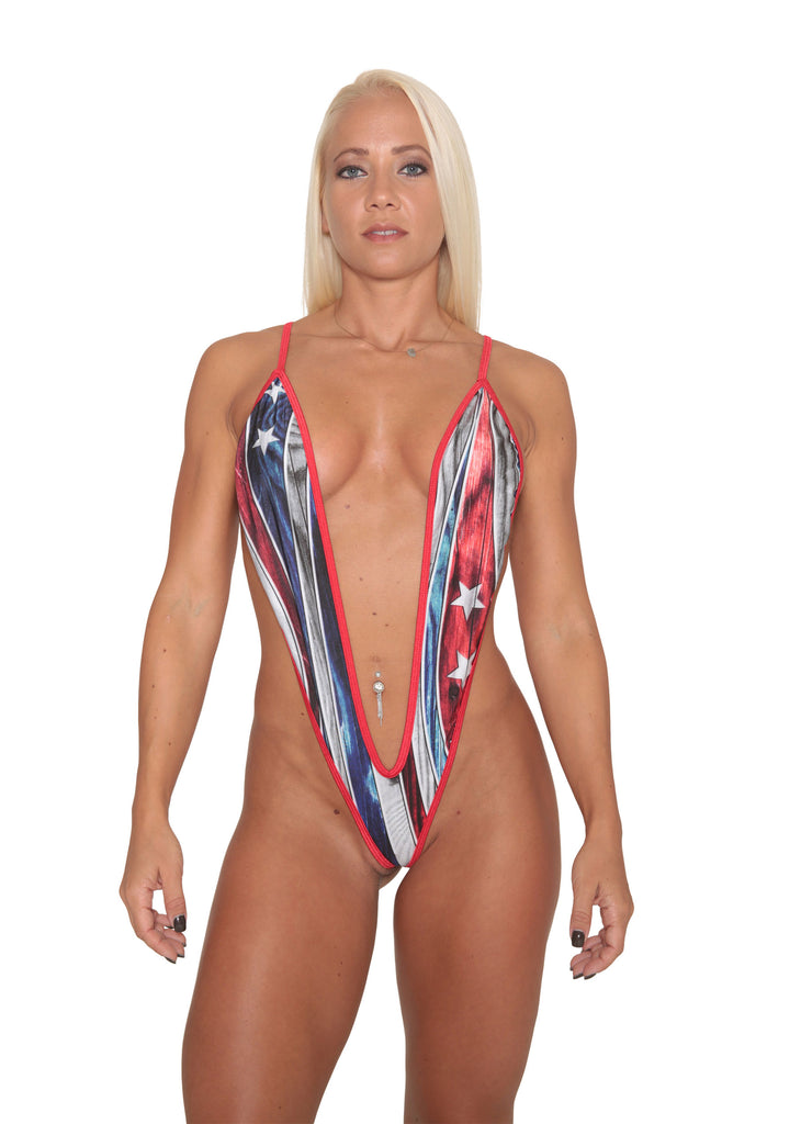 Stars And Stripes Slingshot Bikini Patriotic Collection