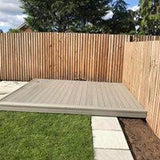 Tanalised Timber Decking installed