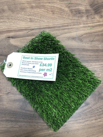 Dog Friendly Artificial Turf 35mm - Installed