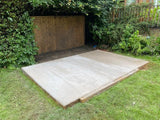 Concrete Shed Base Installed