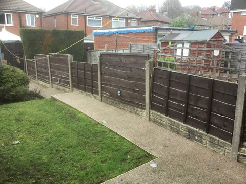 "Fencing Installed ""Includes old fence removal"""