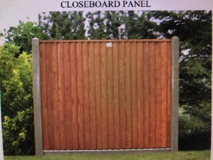 Fence Panel Installed Closedboard