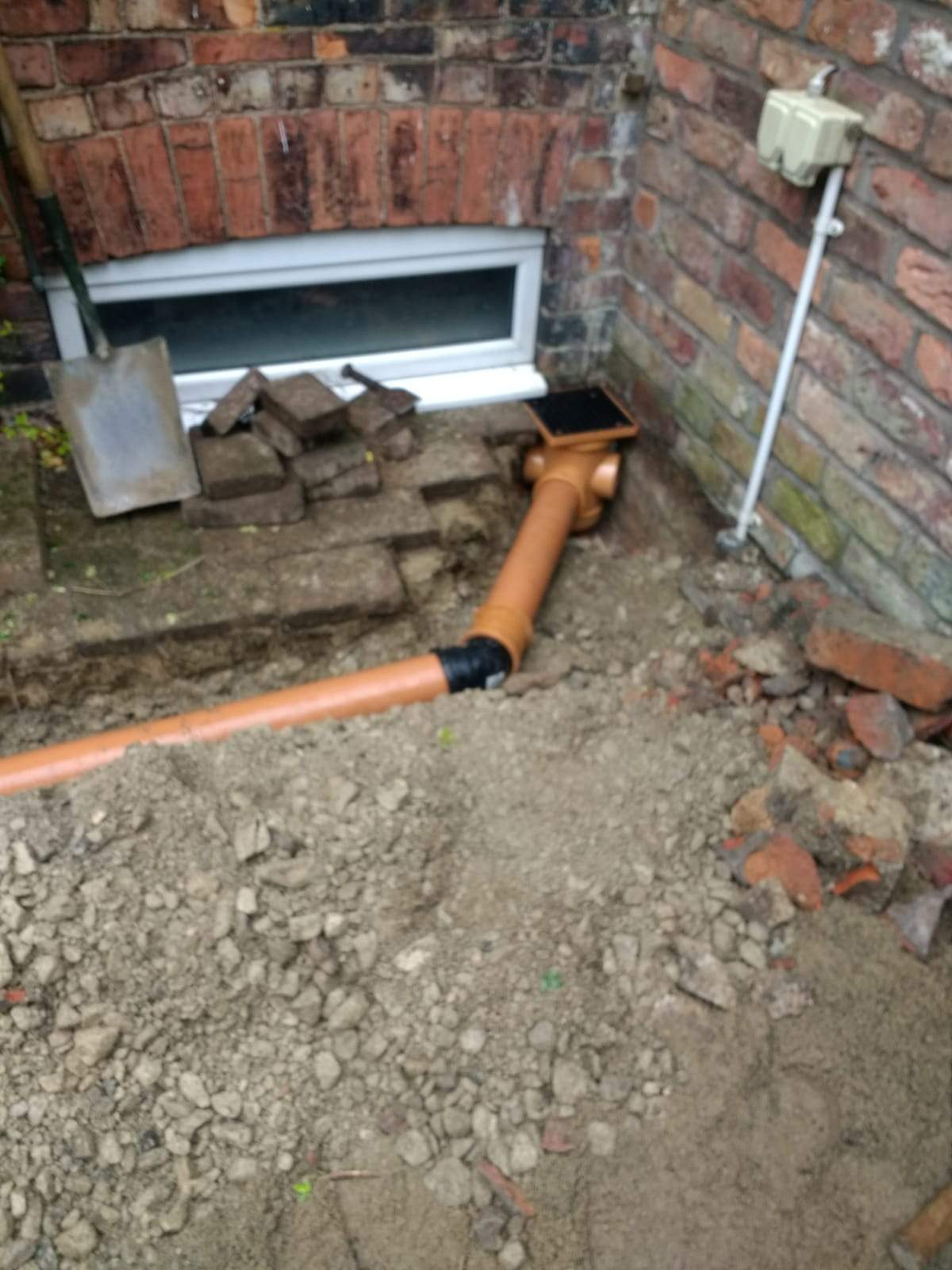 Drain Gulley Installed