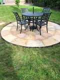 Indian Sandstone Circle Installed