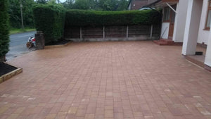 Drivesett Tegula Original Installed