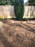 Garden Brick Edge Border priced per meter