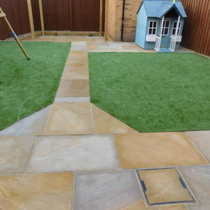 Rippon Natural Sandstone Installed