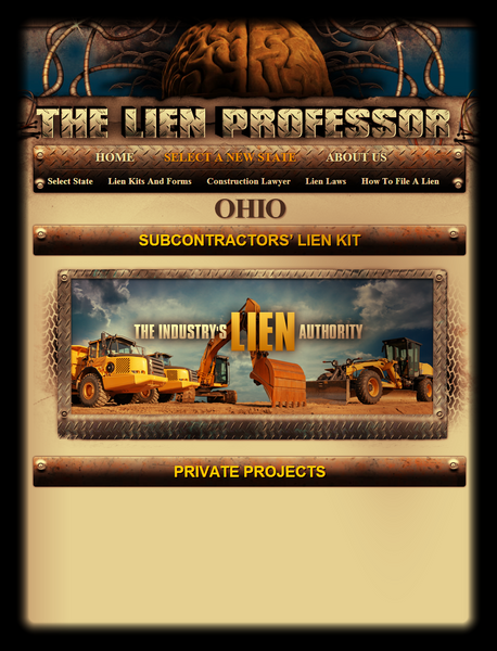 Ohio Subcontractors' Lien Kit