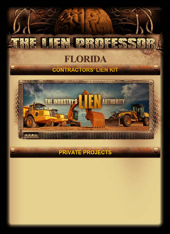 Florida Contractors' Lien Kit