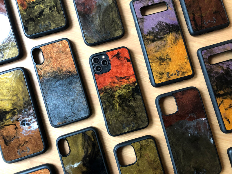 Epoxy phone case