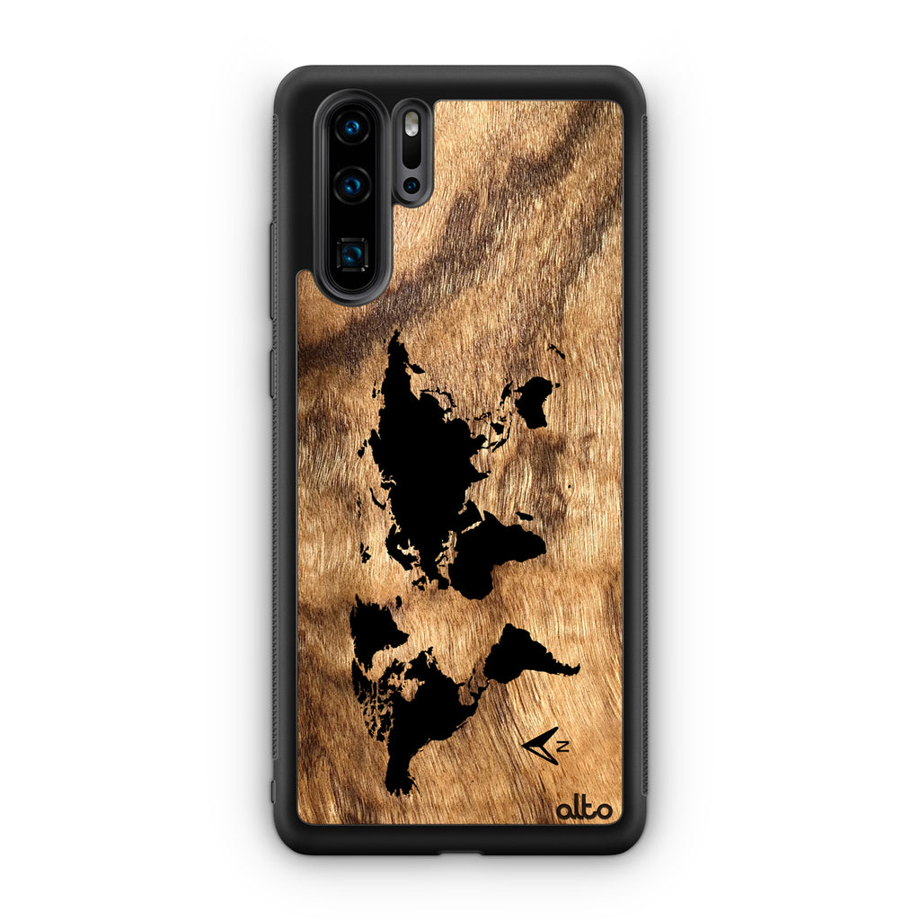World Map - Olivewood (Huawei)