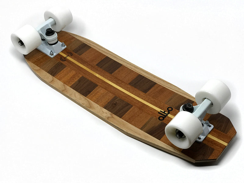 Wood Longboards - Mini-Cruiser Skateboard